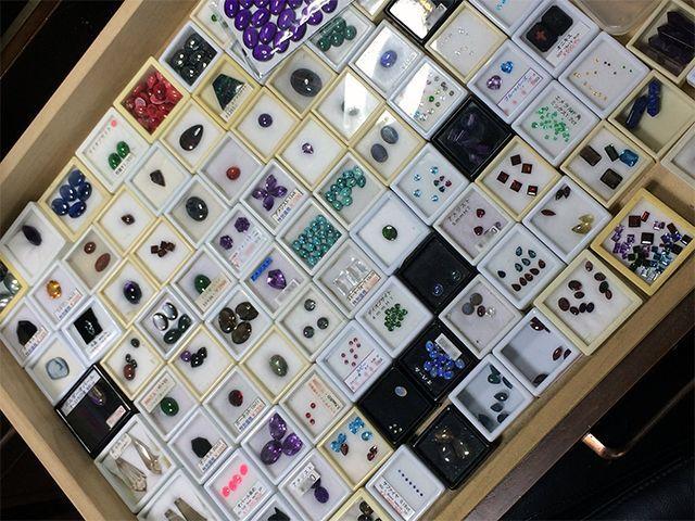 たくさんの宝石